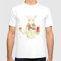 M¡lk Mens Fitted Tee White SMALL