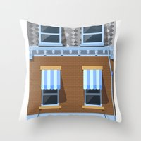 Day at the Movies Throw Pillow