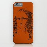 iPhone & iPod Case featuring Modern Lisa (orange) by Jason St. Peter