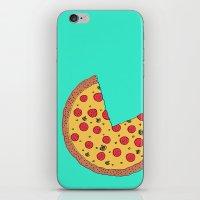 Pizza Pie Chart iPhone & iPod Skin
