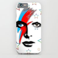 Bowie's Eyes iPhone 6 Slim Case