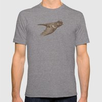 Old Soul Mens Fitted Tee Tri-Grey SMALL