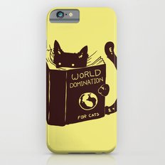 World Domination (for cats) iPhone 6 Slim Case