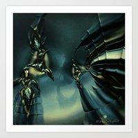 Queen Of Darkness Art Print