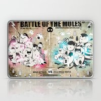 Battle of the moles Laptop & iPad Skin