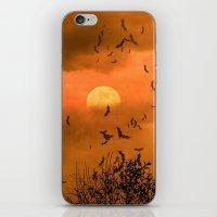 Samhain Contemplative --… iPhone & iPod Skin