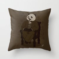 The Alumni Cub Throw Pillow