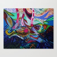 The Revealing Canvas Print