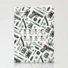 Thug Life Stationery Cards