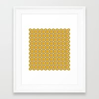 Pattern D Framed Art Print