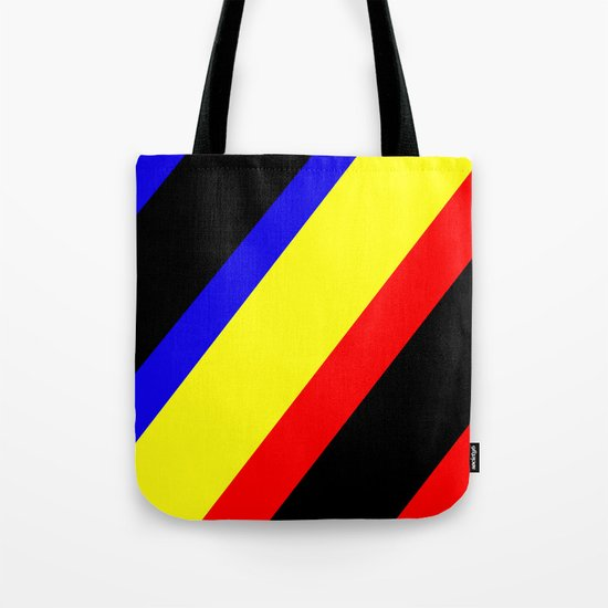 Retro Angled Tote Bag