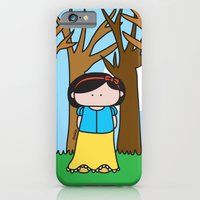 iPhone & iPod Case featuring Snow White by oekie