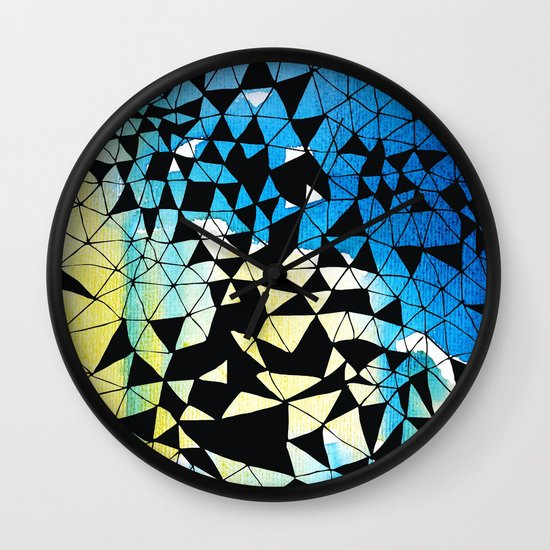 shatter Wall Clock