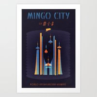 MINGO CITY Art Print