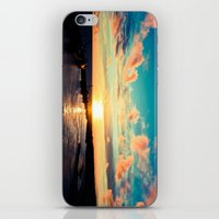 Sunset In The Azores iPhone & iPod Skin