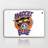 MadCat Blue Laptop & iPad Skin