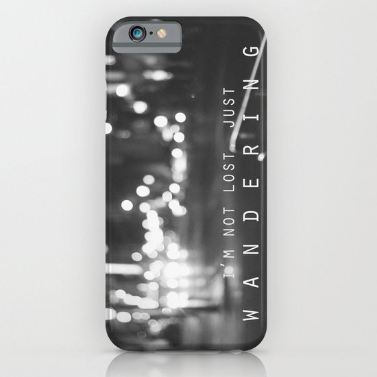 just wandering. iPhone & iPod Case