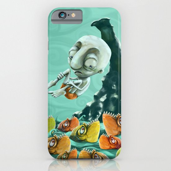 Take a Risk! - Piranhas iPhone & iPod Case