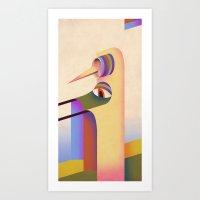 Figure #1 Art Print