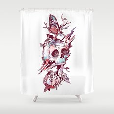 Mors Et Natura 2.0 Shower Curtain
