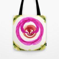 Inner Power Nebula Tote Bag