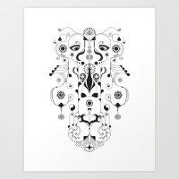 A Swirltastic Convulsion Art Print