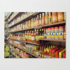 Hot Hot Sauce Canvas Print