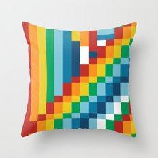 Fuzzline #5 Throw Pillow