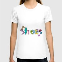 shoes T-shirts featuring Shoes by Anthony Mwangi