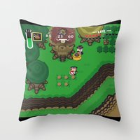 A Link to the Past Throw Pillow