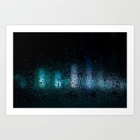 Frozen lights Art Print