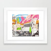 Milano Da Bere  Framed Art Print