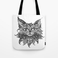 Abstract ZIA Cat Tote Bag