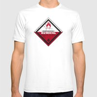 Kemical Mens Fitted Tee White SMALL