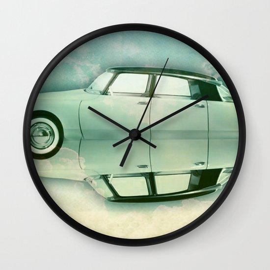 Siamese citroen Wall Clock