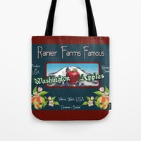 Washington Apples Tote Bag
