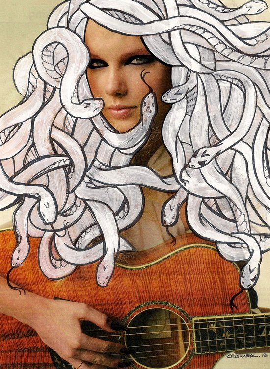 Taylor Medusa Art Print