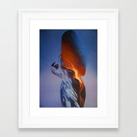 Erupt Framed Art Print