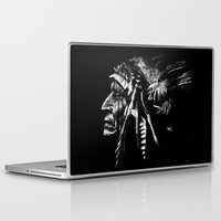 native american Laptop & iPad Skins featuring Native American by Sandy Elizabeth