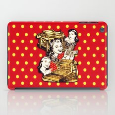 Quirky Office Gals iPad Case