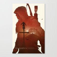 Assasins Creed 3 Canvas Print