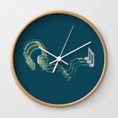 Plug in the music Wall Clock