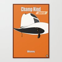 Champ Kind: Sports Canvas Print