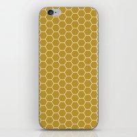 Honeycomb Hex iPhone & iPod Skin