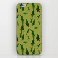 Have A Holly Jolly iPhone & iPod Skin