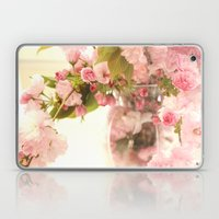 Dreamy Pink Apple Blossoms  Laptop & iPad Skin