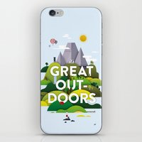 It's Great Outdoors iPhone & iPod Skin
