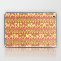 Aztec duo color pattern Laptop & iPad Skin