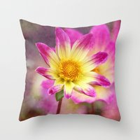 Sweet As Candy Throw Pillow