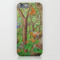 iPhone & iPod Case featuring A Day of Forest (1). (walk into the forest) by Amy Fan